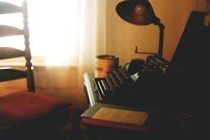 William Faulkner's portable typewriter