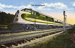 The Tennessean, Southern Railway