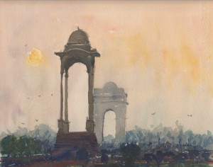 India Gate by Blake Hurt