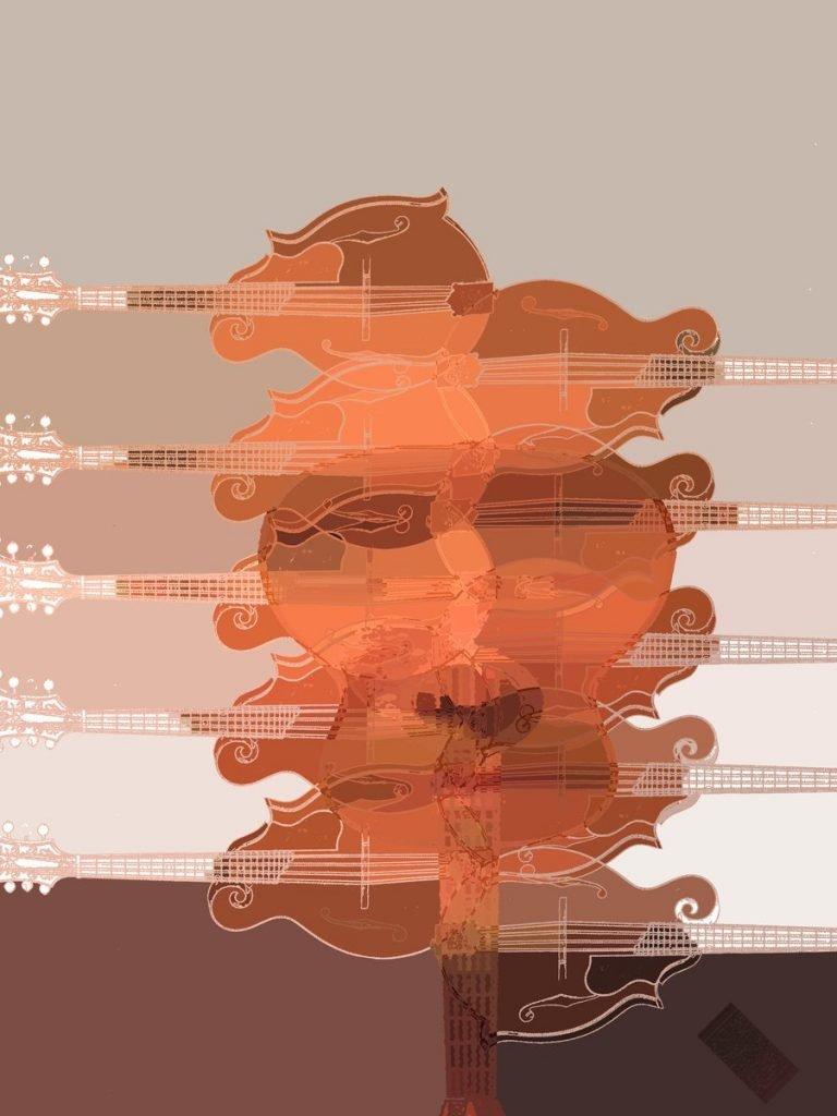 Werter with Mandolins by Blake Hurt