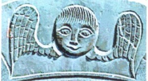 Gravestone_Art_winged_cherub