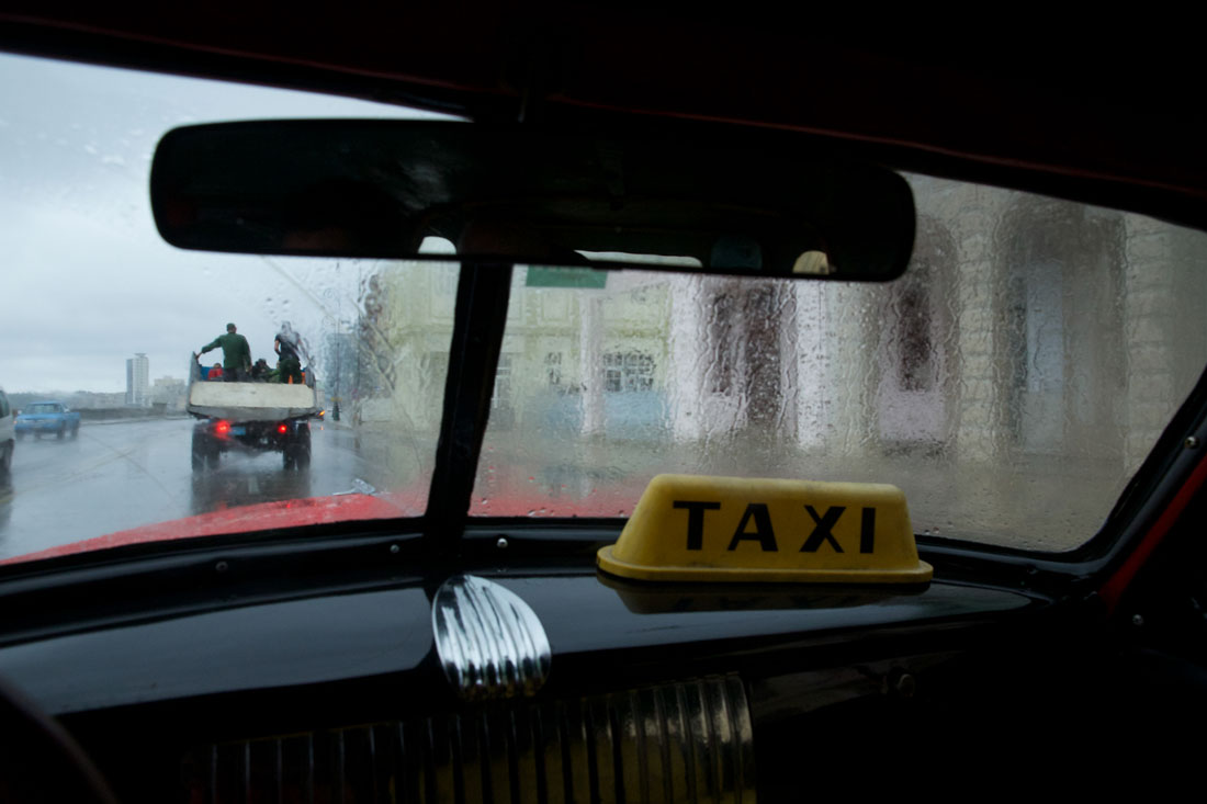 Sam Abell taxi photo