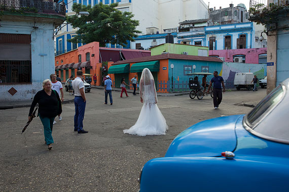 Bride at Intersection