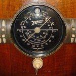 1940 Zenith radio dial