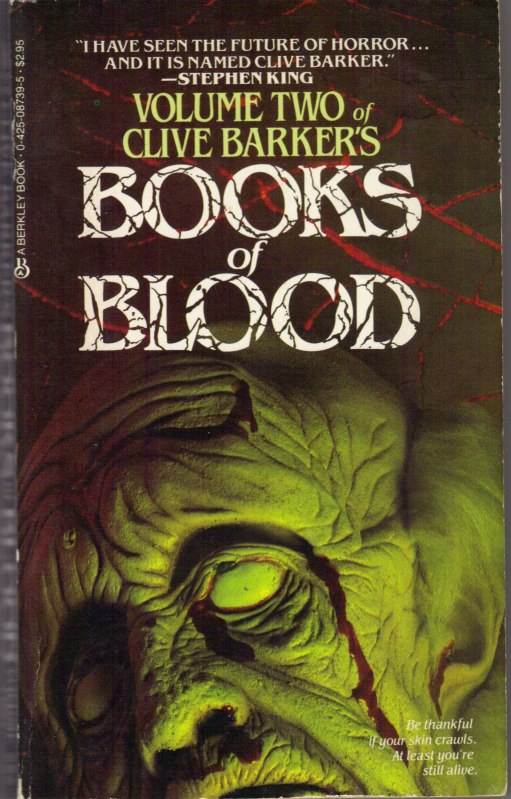 Books of Blood, Vol 2 by  Clive Barker