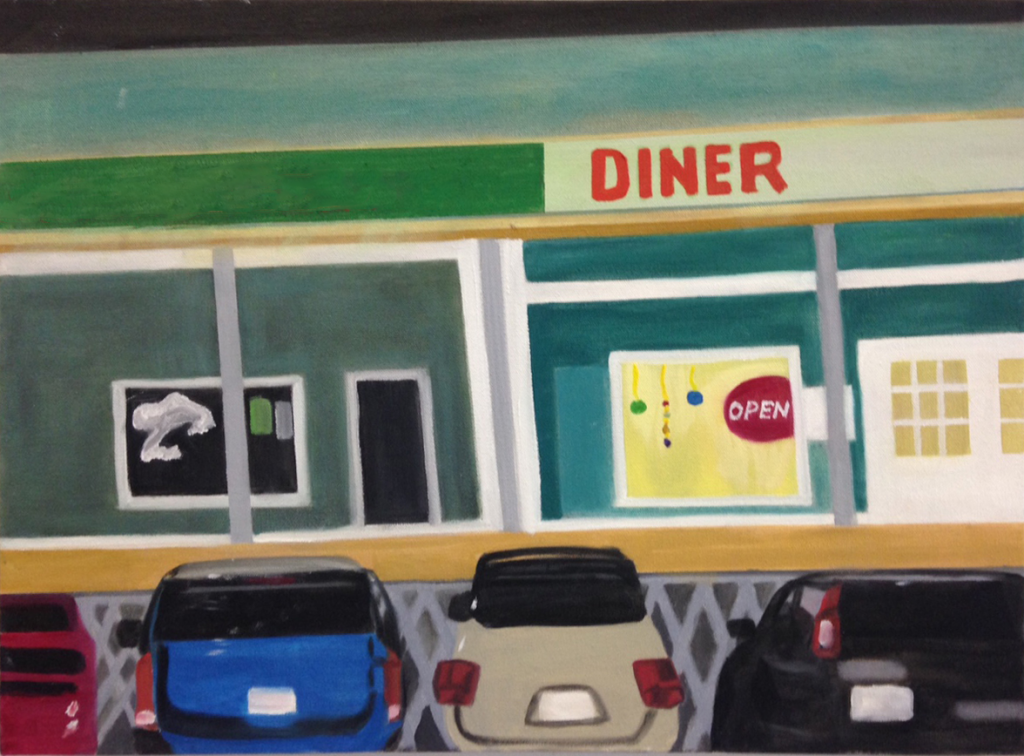 Hospice-Diner Copyright Donald Silverman 2015. All rights reserved. theothersilverman.com