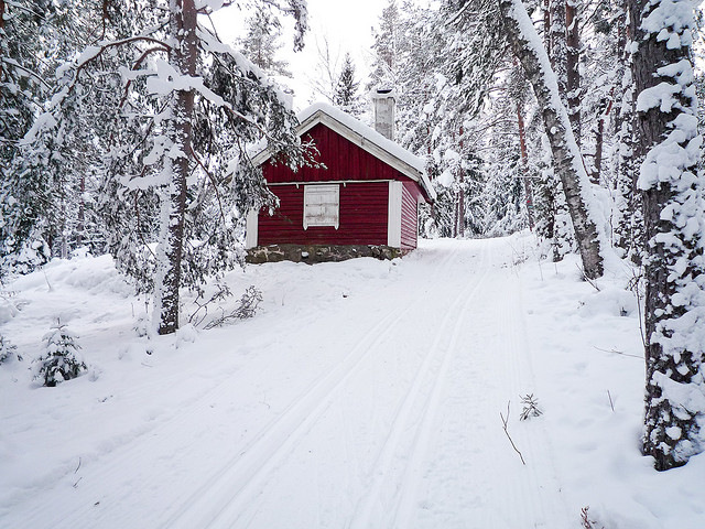 Asbjørn Floden, Small cottage