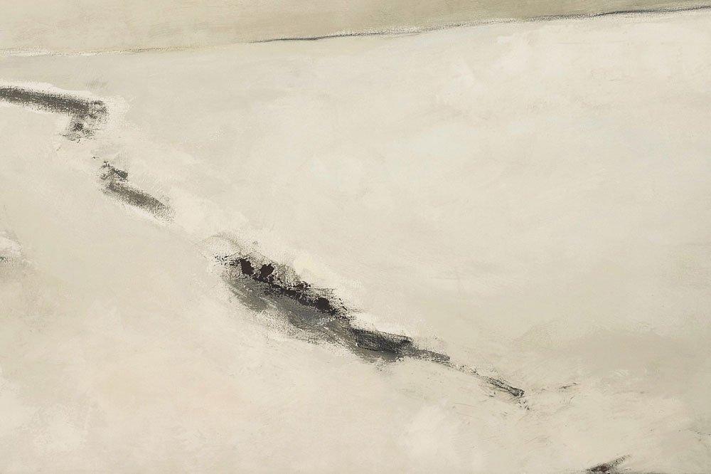 Neige oil on canvas