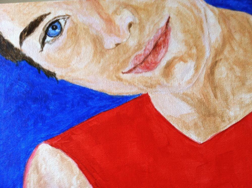 painting by Deb Prum