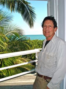 Artist Lawrence Anthony at home in Florida