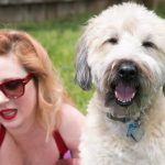 Picture of author Emily Littlewood and her dog