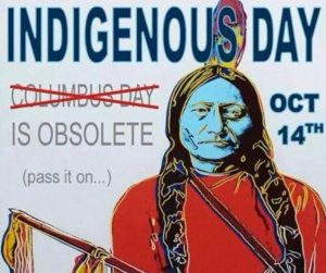 Indigenous Day poster.