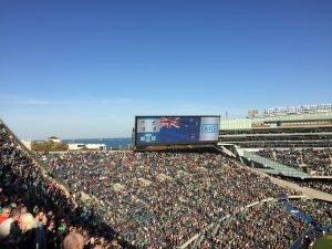 Full sports stadium