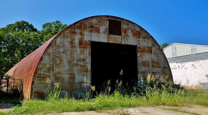 Metal Quonset hut