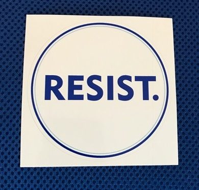 The word RESIST