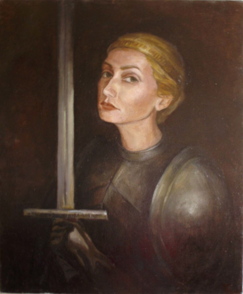 Painting of Jean D'Arc