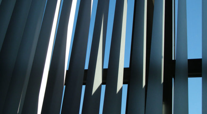 slats with light and shadow