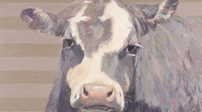 Cow, painted