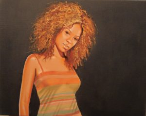 Painting of Beyoncé