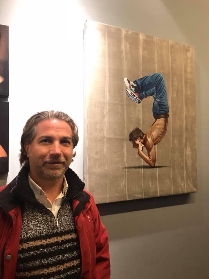 Artist Mario Loprete