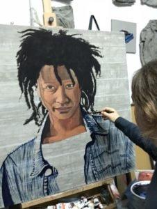 Painting of Sister Awa