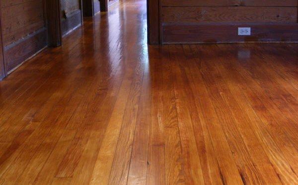 Pine floor