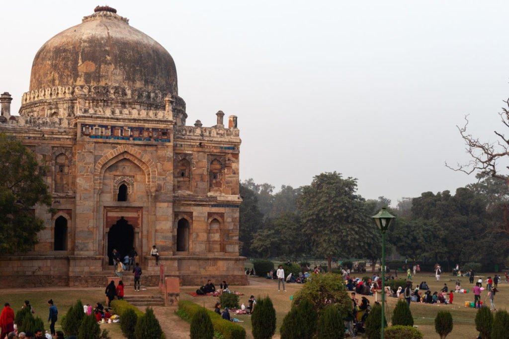 Photo of a temple in Delhi
