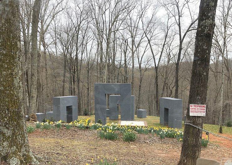 Stonehenge in woods
