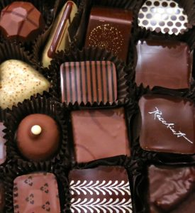 Photo of fancy chocolates