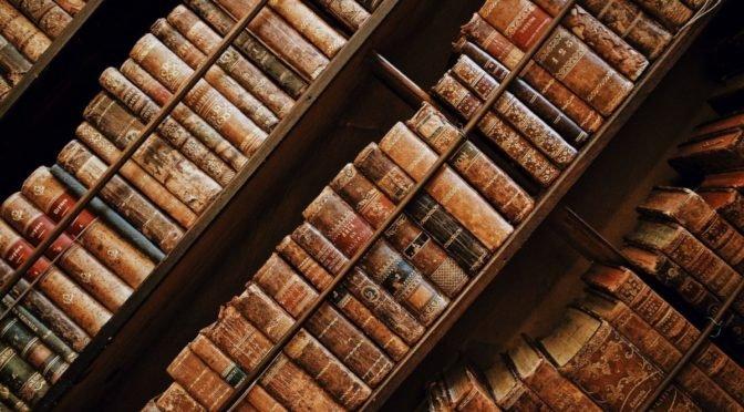 Photo of antique books