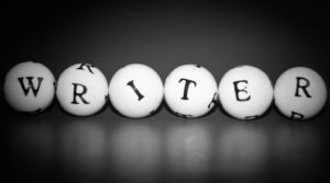 Writer spelled out on 6 balls