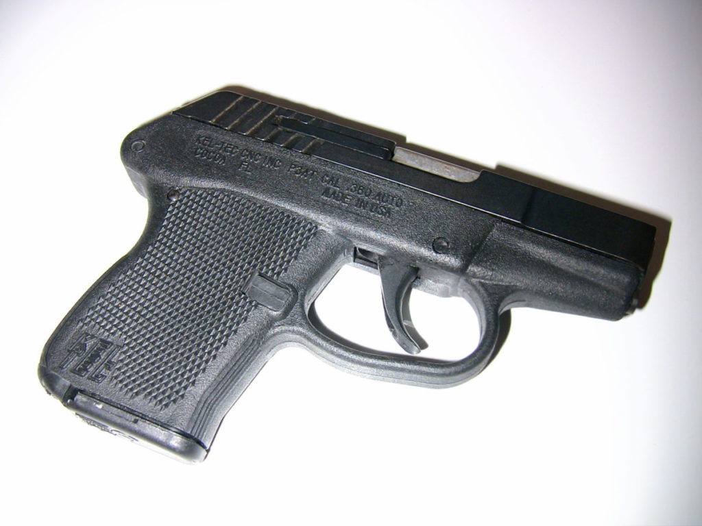 Photo of handgun