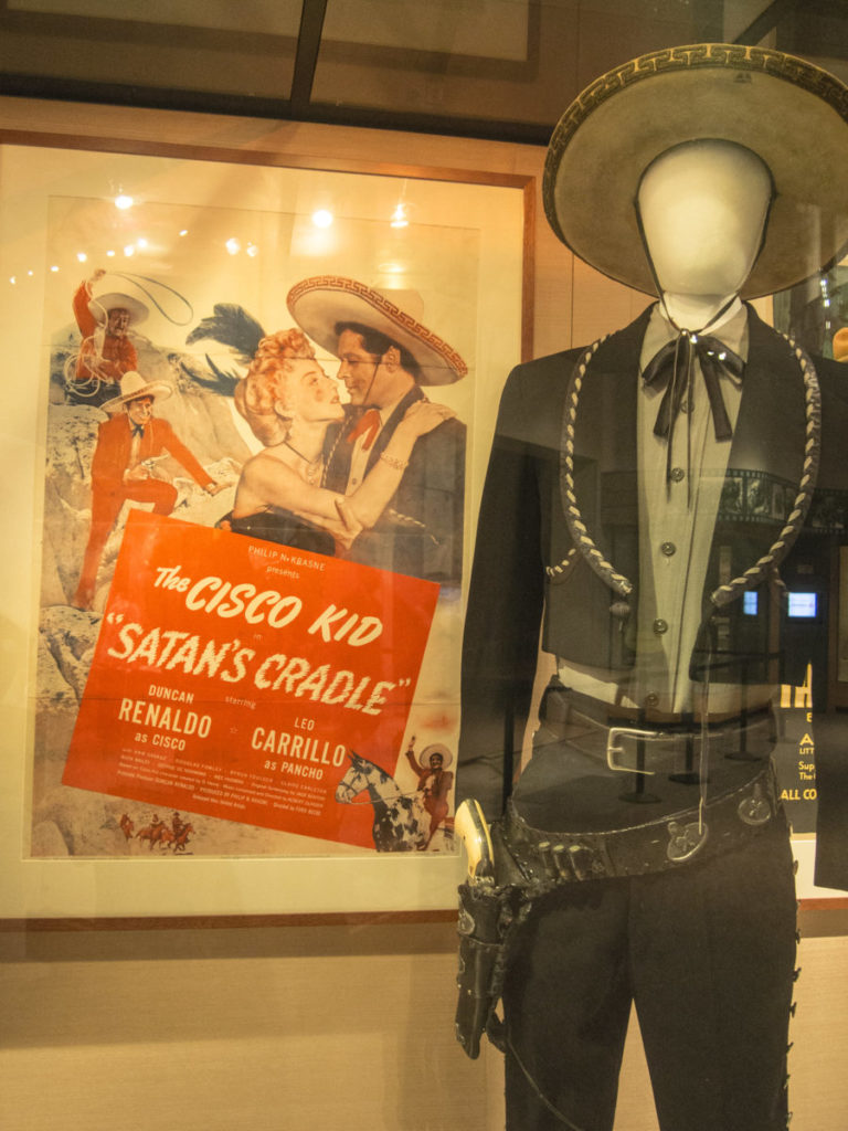 Photo of Cisco Kid's costume on mannequin