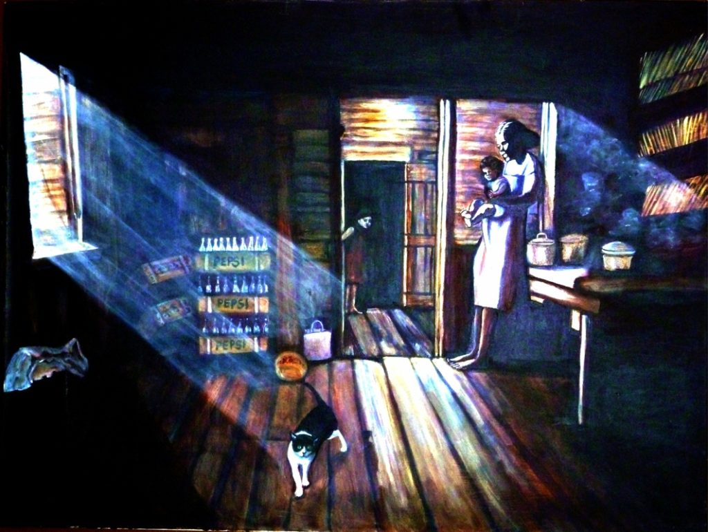 Painting of room