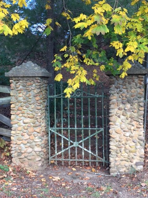 Photo of stone gateway