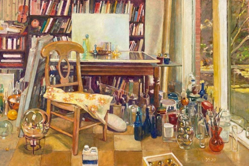 Painting of studio