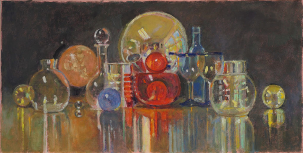 Painting of collection of objects