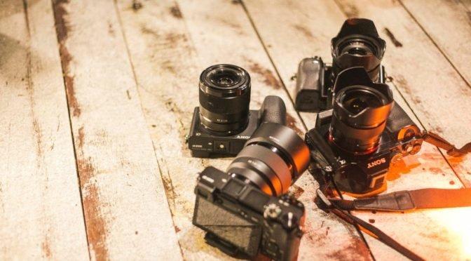 Photo of four cameras