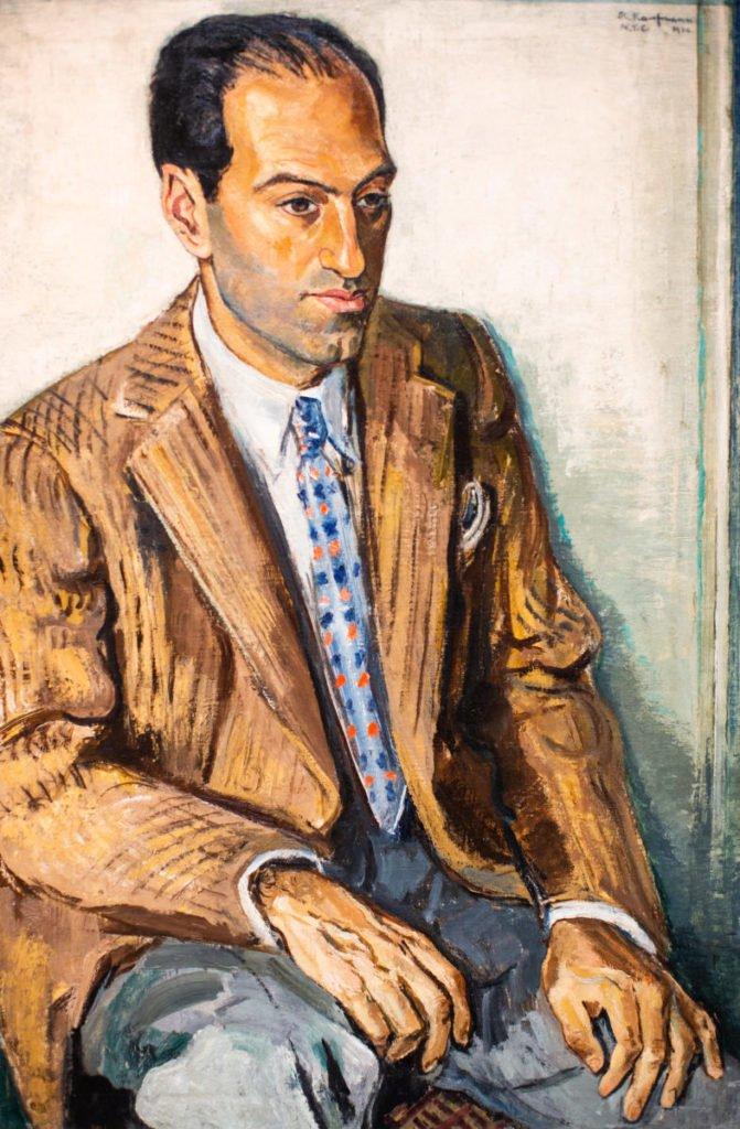 Painting of Gershwin